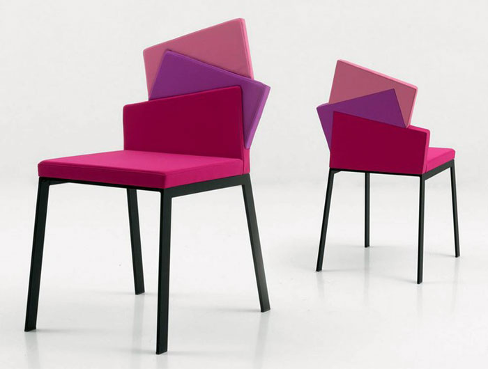 Home Decorating Color Trends for 2014 radiant orchid modern chair