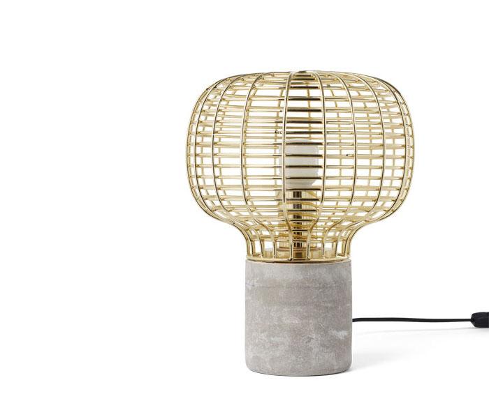 solid-concrete-lattice-shade-lamp