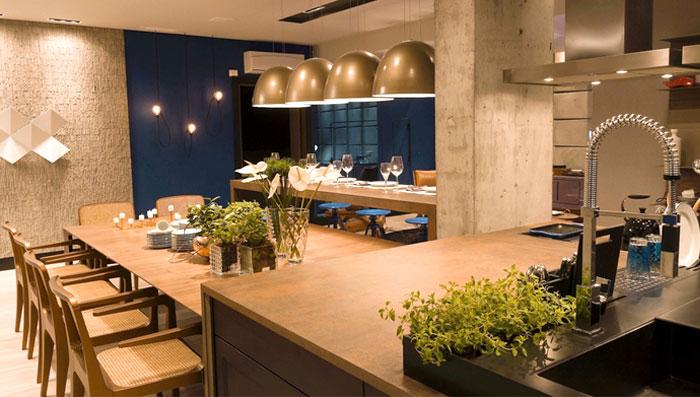 Kitchen with island design ideas for your kitchen space for Rectangular kitchen designs