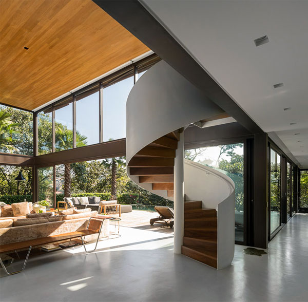 white-spiral-staircase