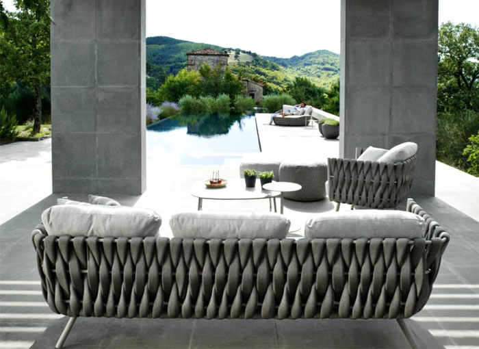 Fabric Outdoor Furniture By Monica Armani Interiorzine