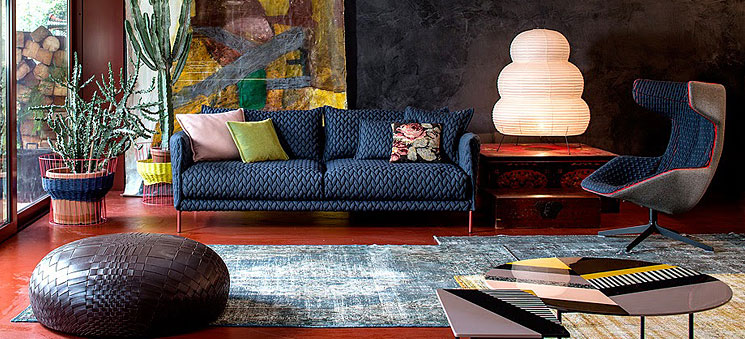 Fantastic upholstered furniture by moroso for Divano wonder