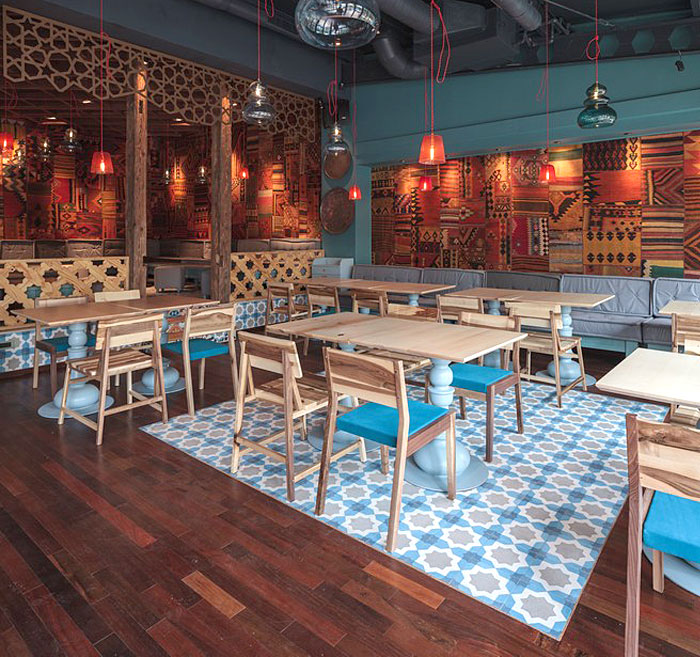 Exotic oriental restaurant decor interiorzine for Divan istanbul