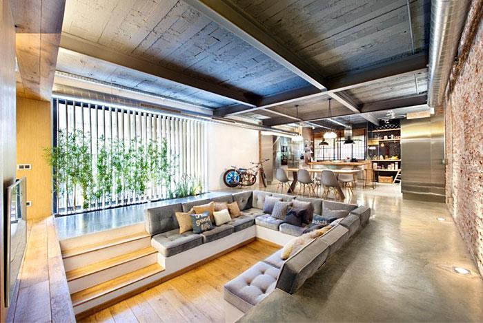 u-shaped-sofa