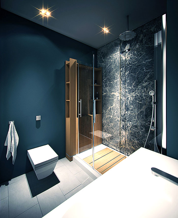 black-marble-wall-covering