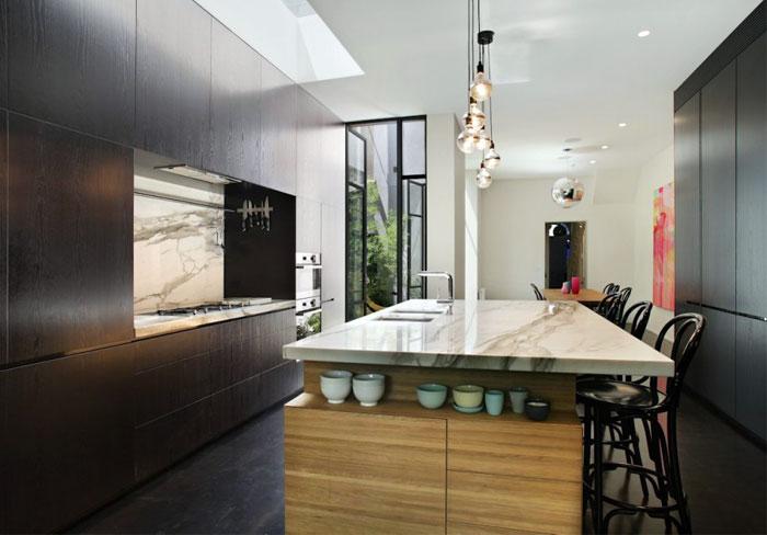dark-timber-calcutta-marble-kitchen-interior