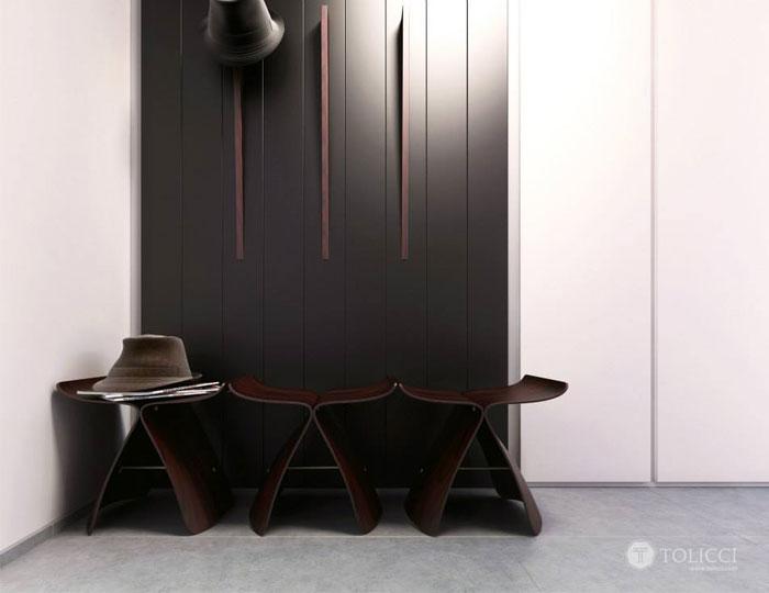 Hiện đại ấm cúng đồ đạc Home Studio Tolicci phòng tủ quần áo