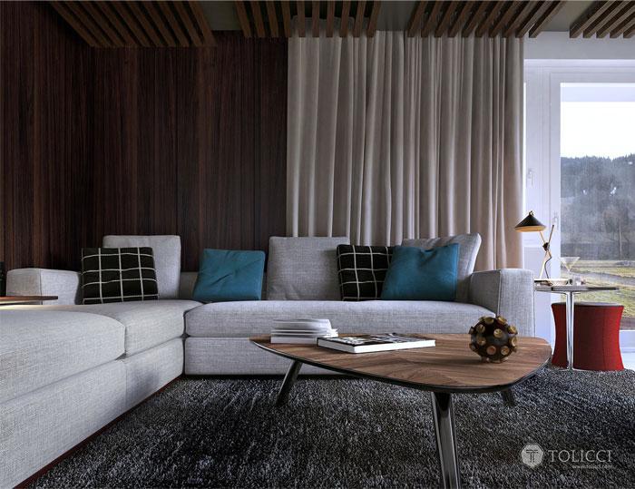 Hiện đại ấm cúng đồ đạc Home Studio Tolicci hiện đại sofa nhà cung cấp cosily