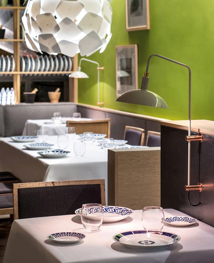 Nhà hàng ấm cúng với thiết kế đương đại Playful vui tươi thiết kế hiện đại sang trọng tinh tế