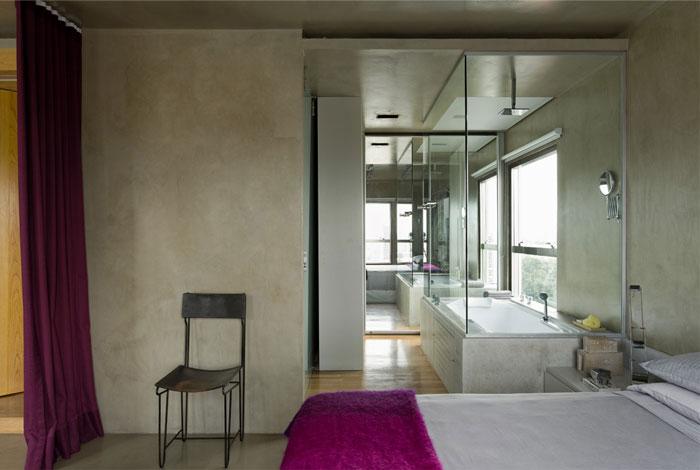 bedroom-wall-coating-burnt-cement