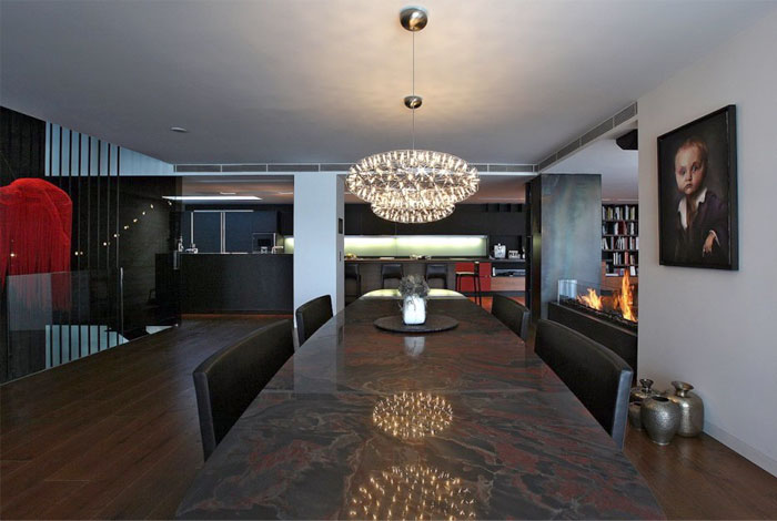 dining-table-dark-marble-surface