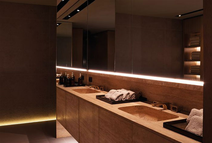 Four Seasons Spa Interior Design By Patricia Urquiola