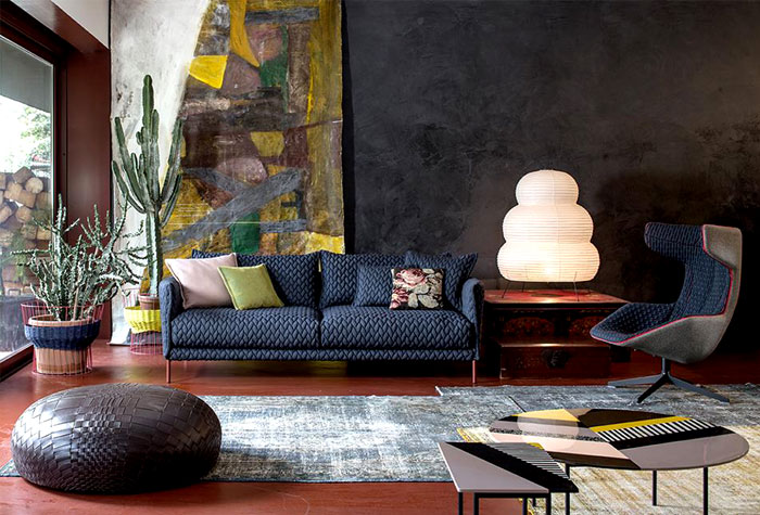 fantastic upholstered furniture by moroso interiorzine. Black Bedroom Furniture Sets. Home Design Ideas