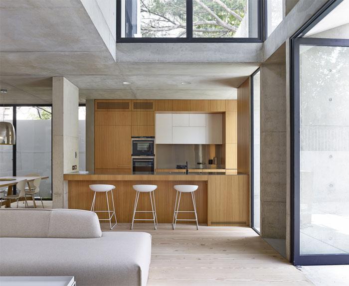 house-black-aluminium- stainless-steel-oak