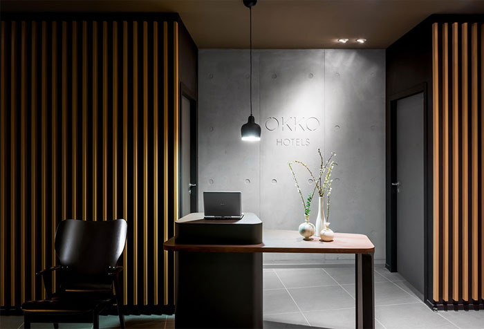 stylish four star urban hotel in nantes interiorzine. Black Bedroom Furniture Sets. Home Design Ideas