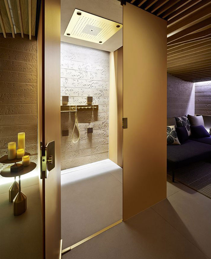 Four seasons spa interior design by patricia urquiola for Spa treatment room interior design