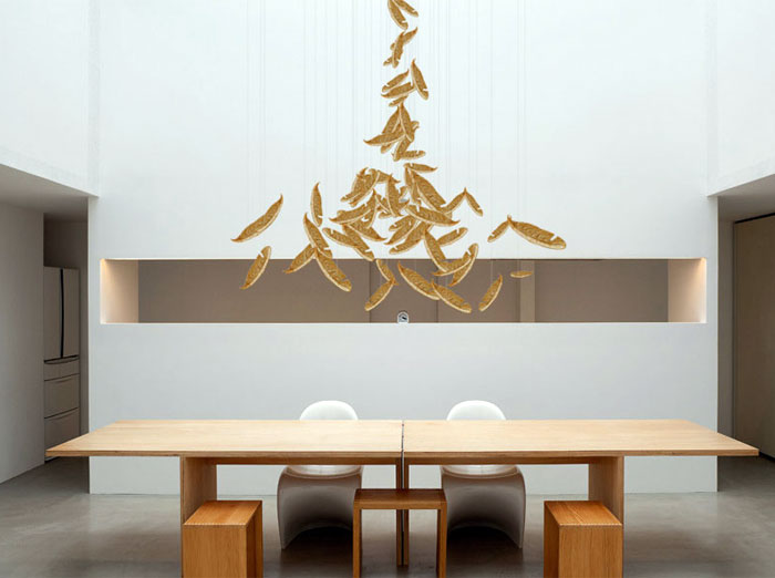 modern-gold-light-installation