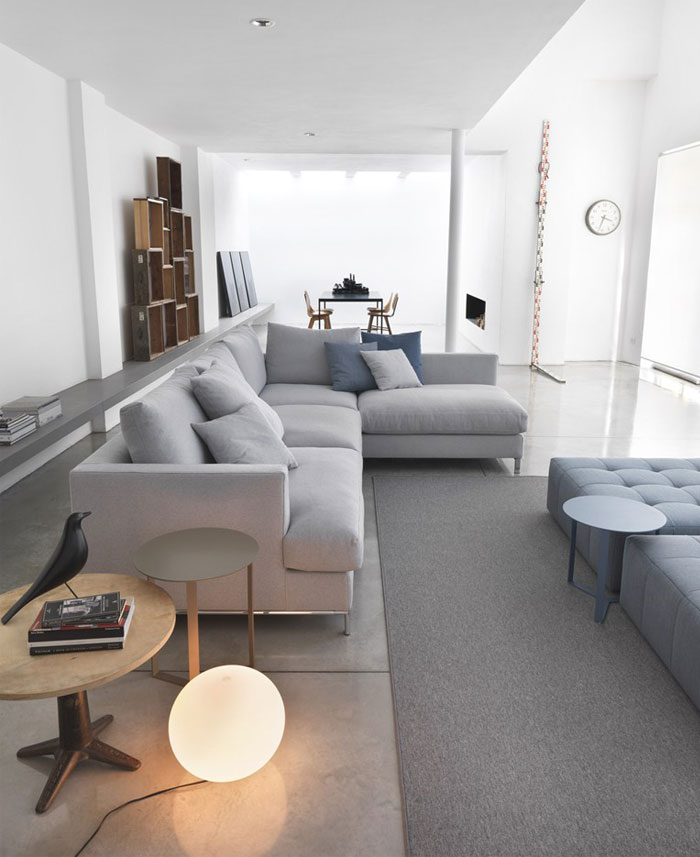 Loft sofa bởi Studio Marelli kế hoạch mở sàn nội thất