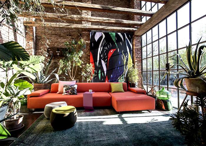 Tuyệt vời bọc nội thất bằng Moroso đẩu sofa Patricia Urquiola