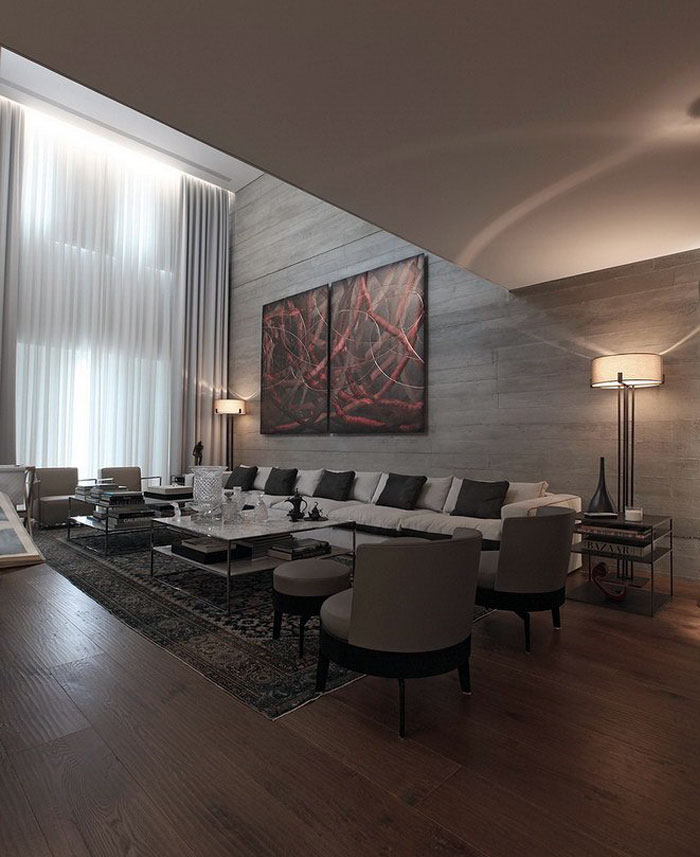 stonewall-panels-clad-walls-living area