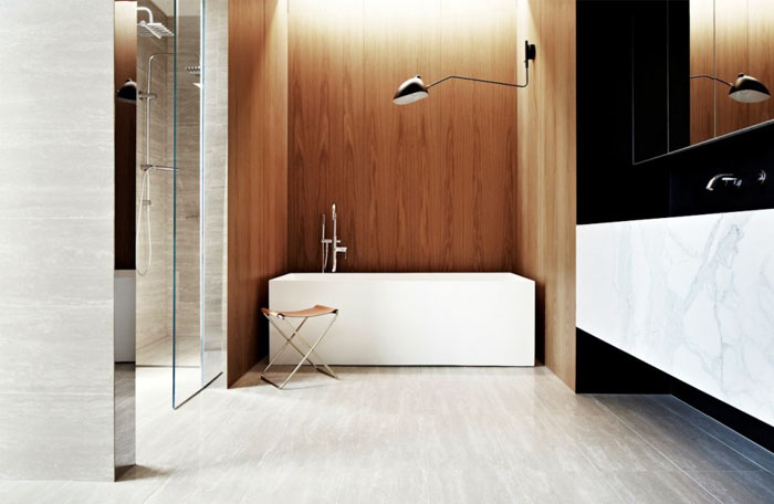 bathroom-oak-wall-elegance-warmth