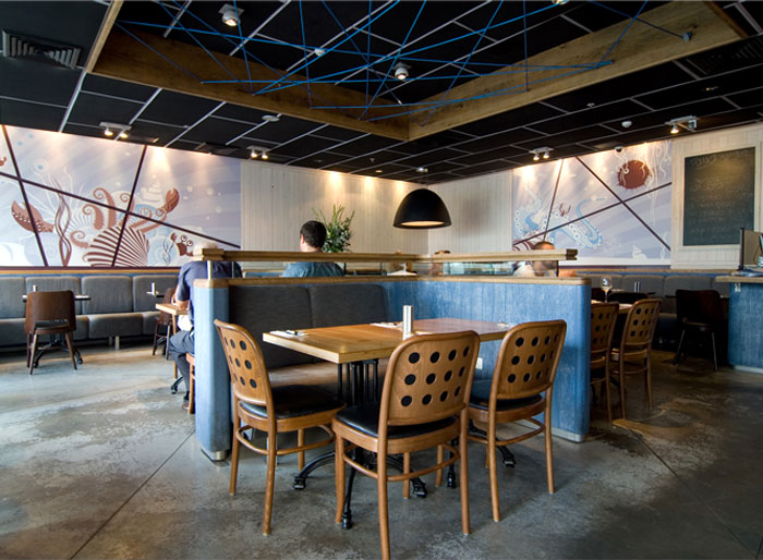 Seafood restaurant design - photo#4