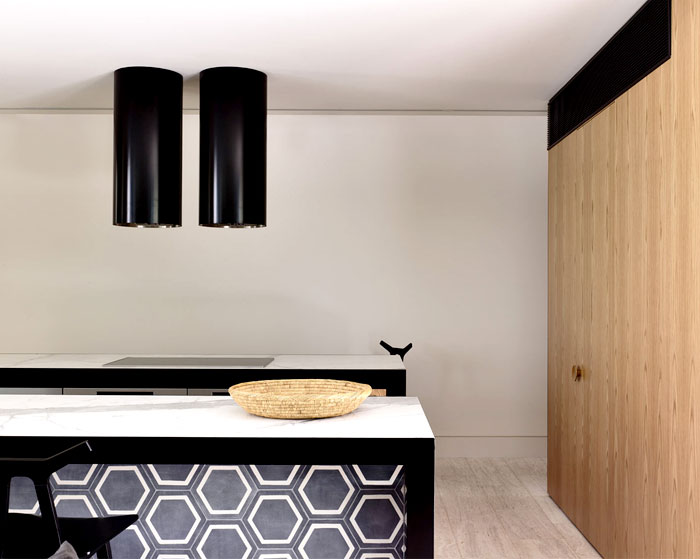 Thanh lịch Residence Victoria Kennedy bởi Nolan Kiến trúc sư thiết kế nội thất nhà bếp