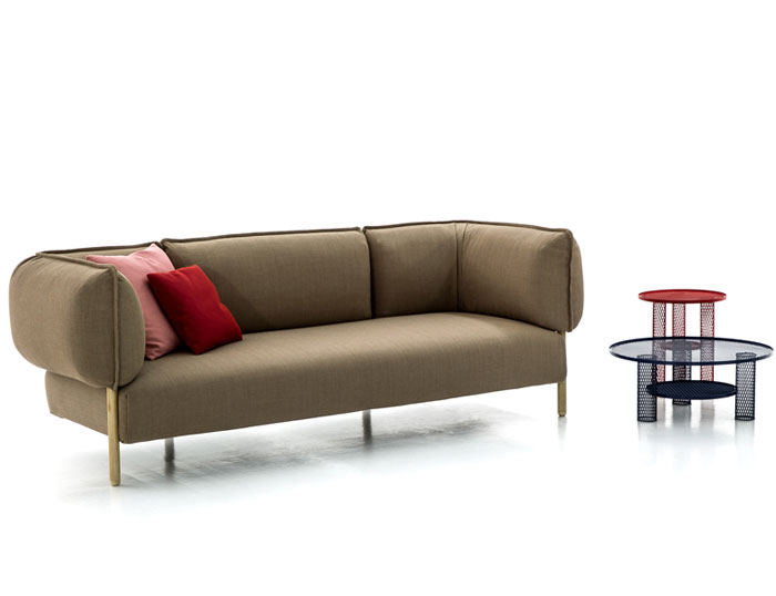 flexible modern modular sofa by patricia urquiola. Black Bedroom Furniture Sets. Home Design Ideas
