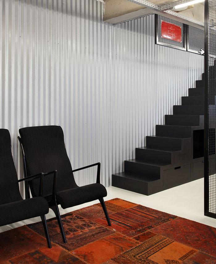 Làm việc chức năng và đương đại Nơi Studio Guilherme Torres kết cấu mềm mại thảm
