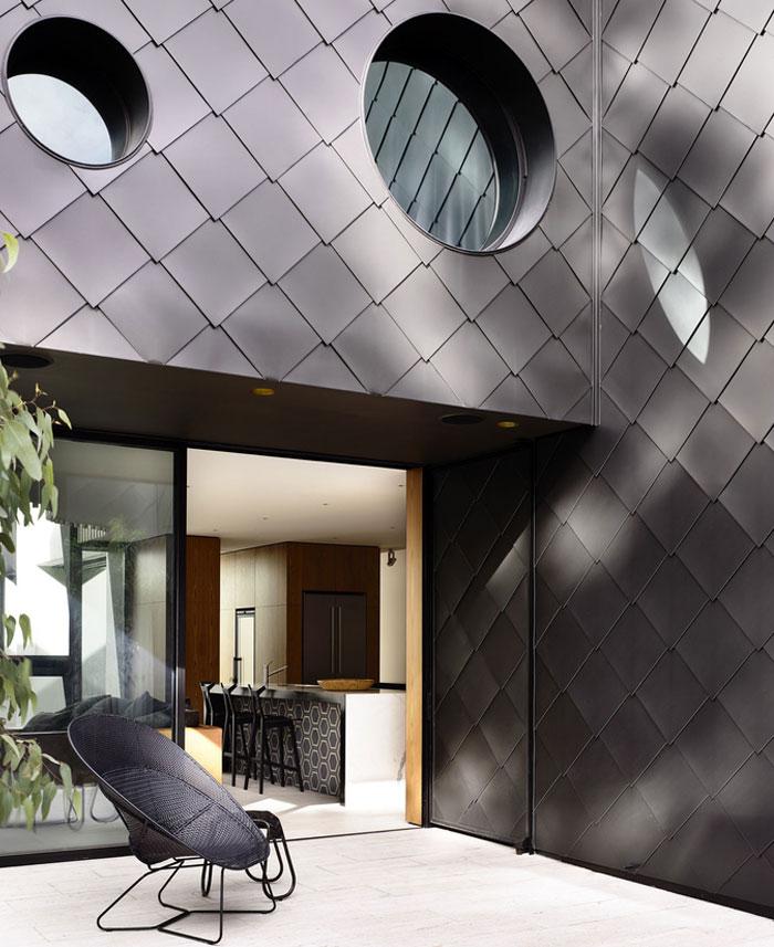 Thanh lịch Residence Victoria Kennedy bởi Nolan Kiến trúc sư bức tường cửa sổ kính rộng rãi