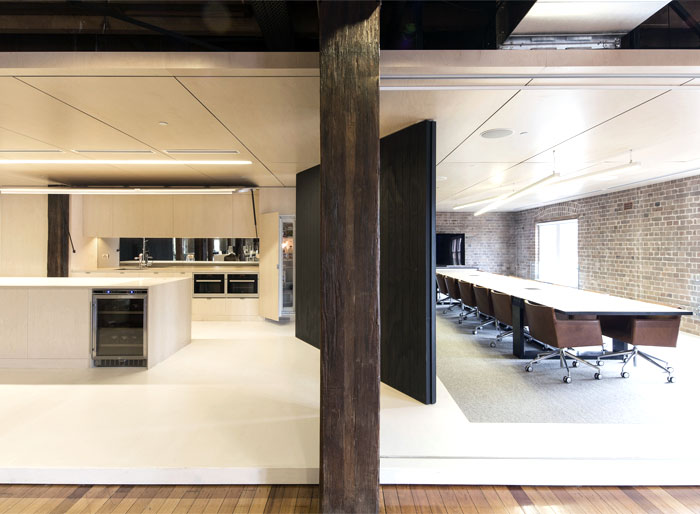 Old Factory Turned To Cozy Office Space Interiorzine