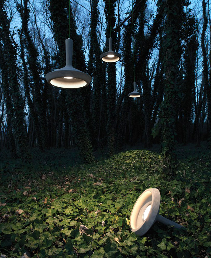 Cement Pendant Lamp by Matteo Ugolini cement pendant lamp 1