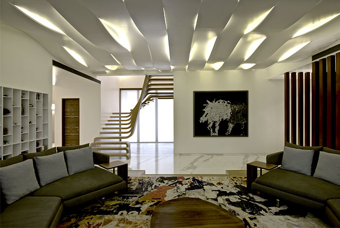 Latest fashion trends modern ceiling design for living for Latest living room designs 2016