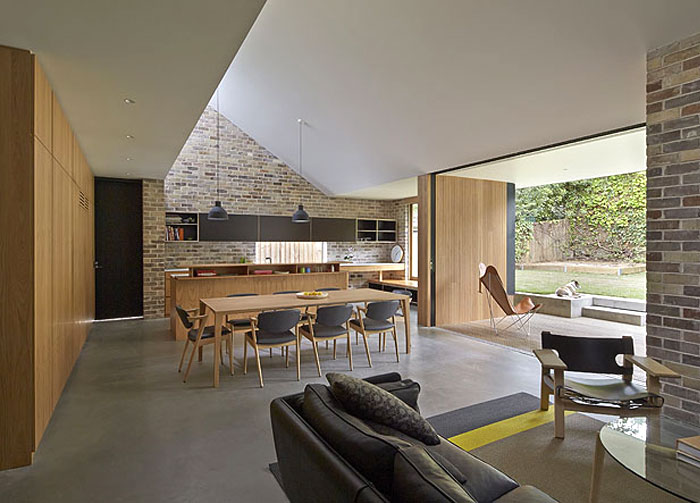 Skylight House Extension By Andrew Burges Interiorzine
