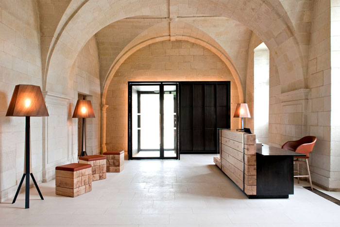 Ancient monastery transformed into a magnificent hotel and for Design hotel ladys first