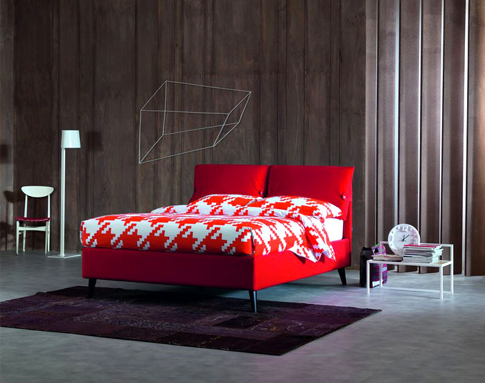 colored-textiles-against-gray-walls