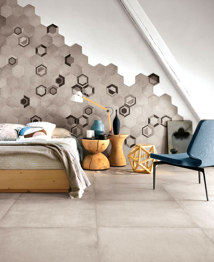 Hexagonal Wall Tiles wall tiles sophisticated colours