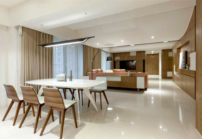 Stylish Apartment By KC Design Studio InteriorZine