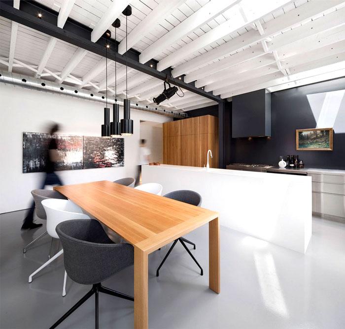 wooden-ceiling-beams-white-kithen-interior