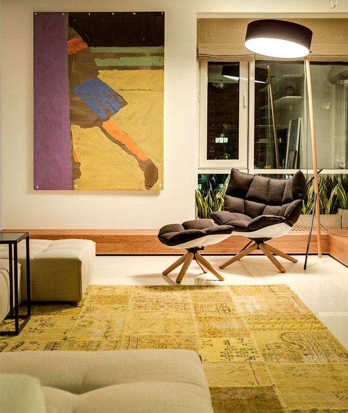 artistic-yellow-rug