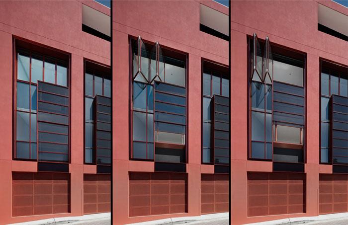 elegant-facade-combination-black-marsala-color