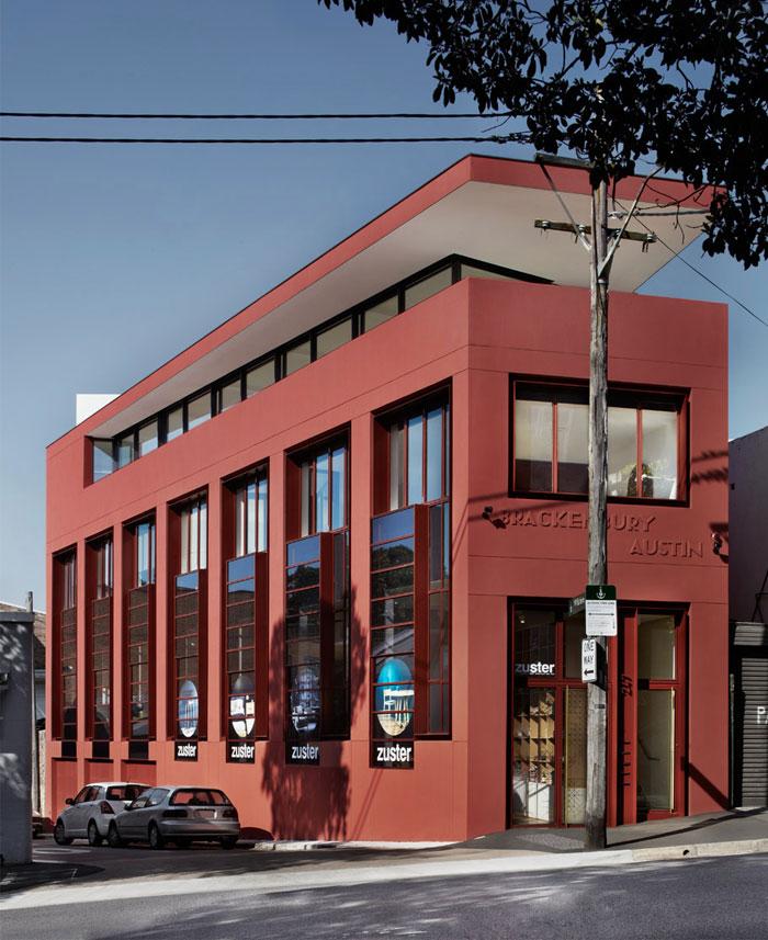 renovated-warehouse-facade-marsala-color