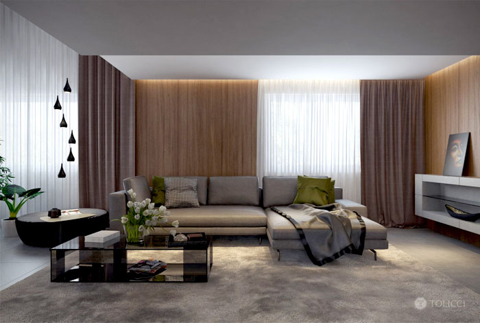 shade-green-gold-color-living-room