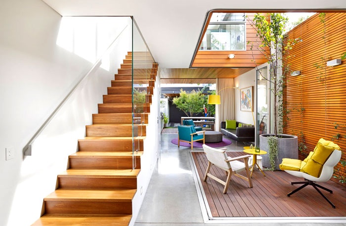 Colourful and Open Family Home by Elaine Richardson ...