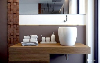 dark-gray-wall-bathroom-1