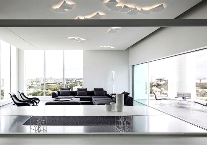 white-monochromatic-living-room