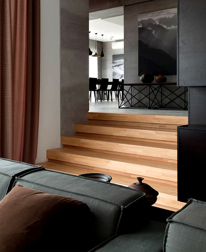 Dark Color Wall Design: Trendy Functional And Contemporary Home
