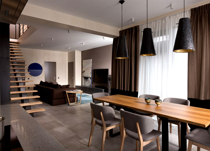 Ukraine House With Character Combination Of Contemporary