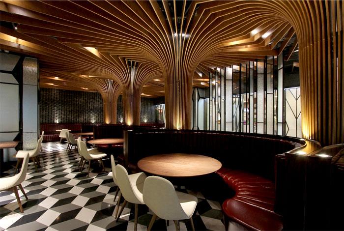 New Trendy Restaurant Amp Bar By Caa Interiorzine
