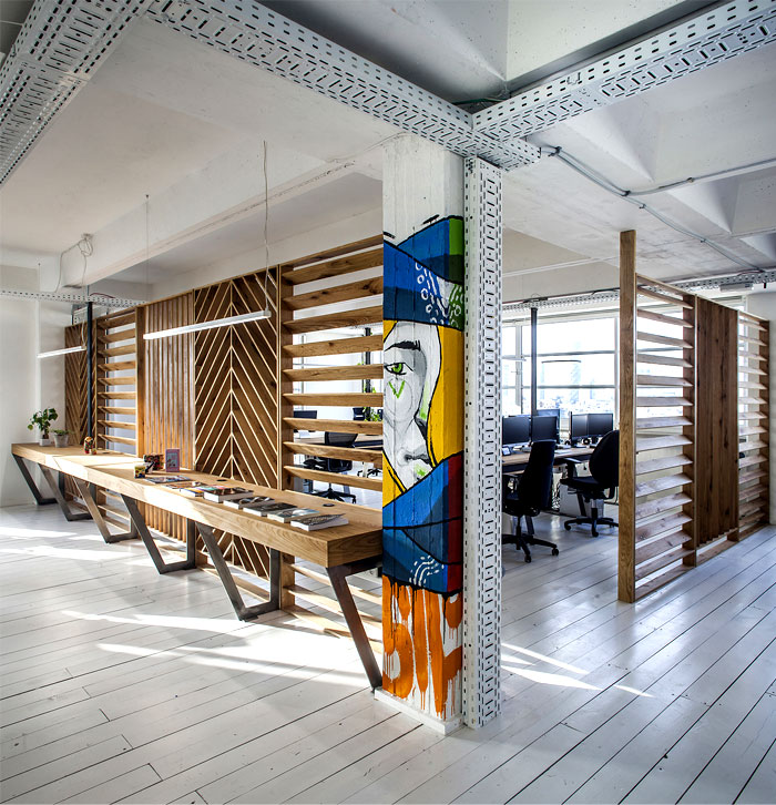 Dynamic Urban Office by Studio Roy David